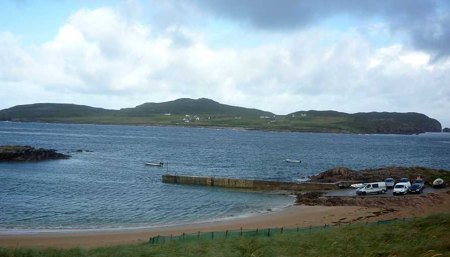 MountainViews.ie Picture about mountain Moylemore (Owey Island) in area Donegal NW, Ireland