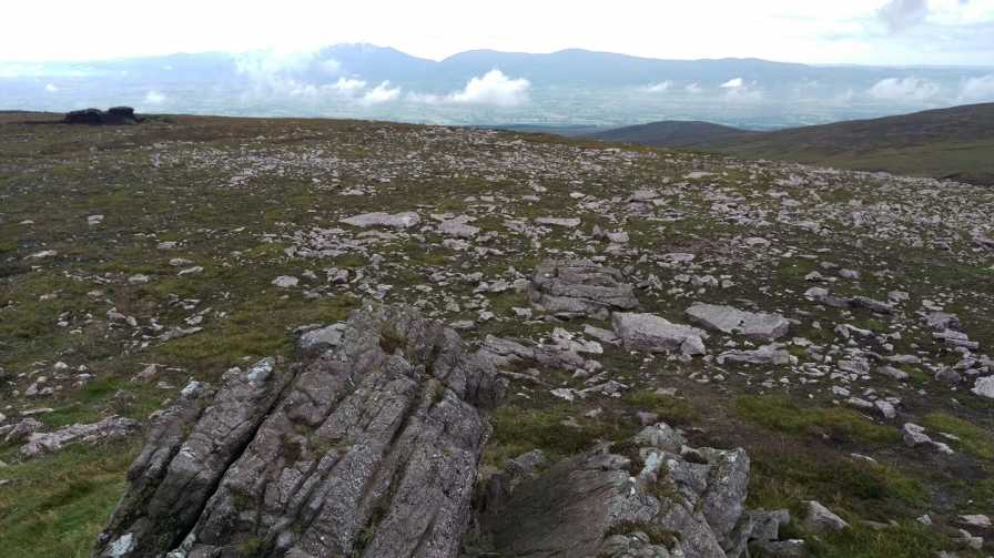 MountainViews.ie Picture about mountain Laghtshanaquilla North-East Top in area Galty Mountains, Ireland