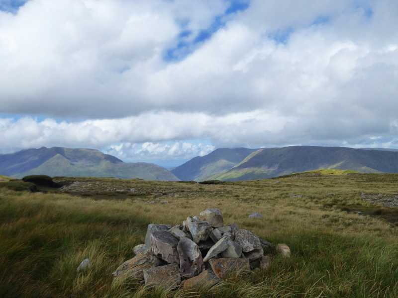 MountainViews.ie Picture about mountain Meall Cheo in area Maamturks, Ireland