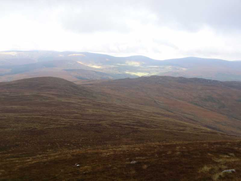 MountainViews.ie Picture about mountain Scarr North-West Top (<i>Scor barr thiar thuaidh</i>) in area Wicklow, Ireland