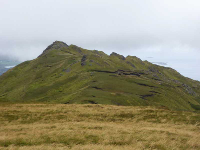 MountainViews.ie Picture about mountain Altnagaighera (<i>Binn Fhaoigh</i>) in area Twelve Bens, Ireland