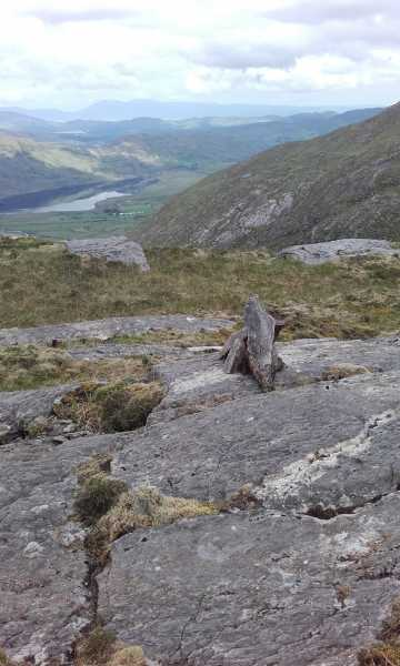 MountainViews.ie Picture about mountain Sallagh South-West Top in area Dunkerron Mountains, Ireland