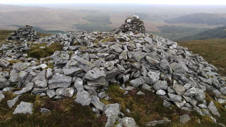 MountainViews.ie Picture about mountain Knockalongy North-East Top in area Ox Mountains, Ireland