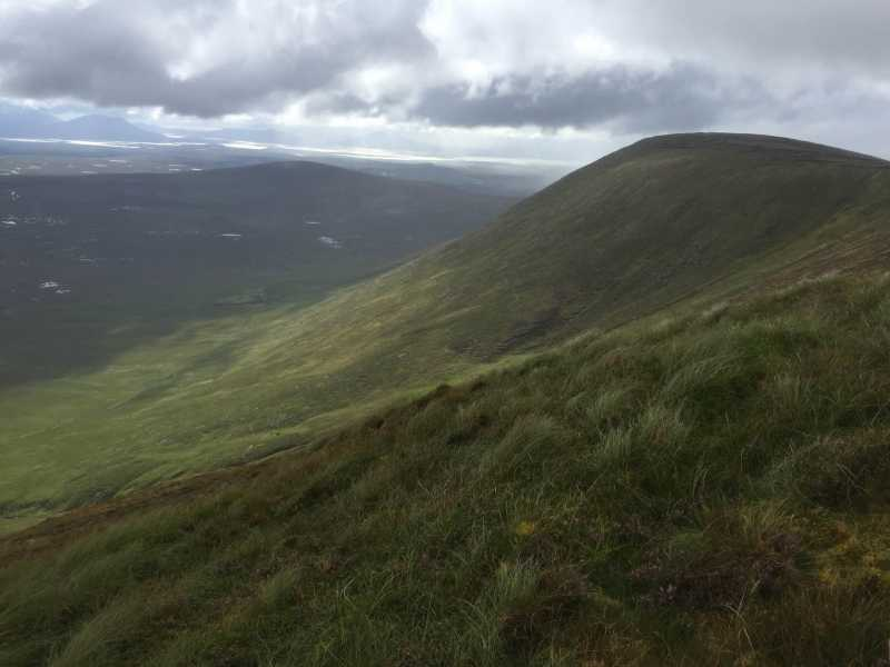 MountainViews.ie Picture about mountain Tawnyanruddia in area North Mayo, Ireland
