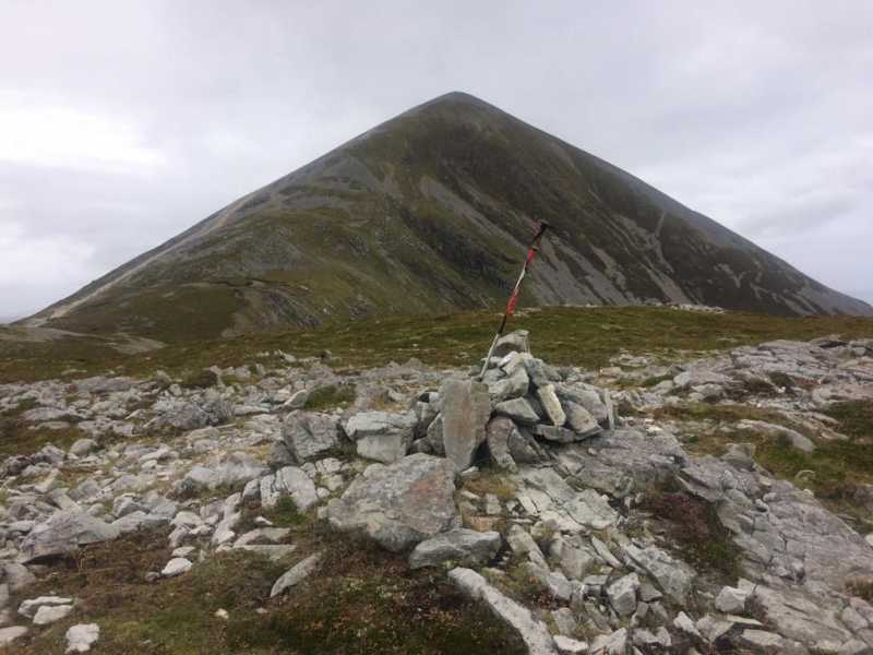 MountainViews.ie Picture about mountain Lugnademon in area Croagh Patrick, Ireland