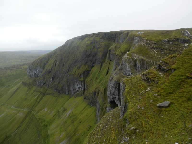 MountainViews.ie Picture about mountain Benwiskin South Top in area Dartry Mountains, Ireland
