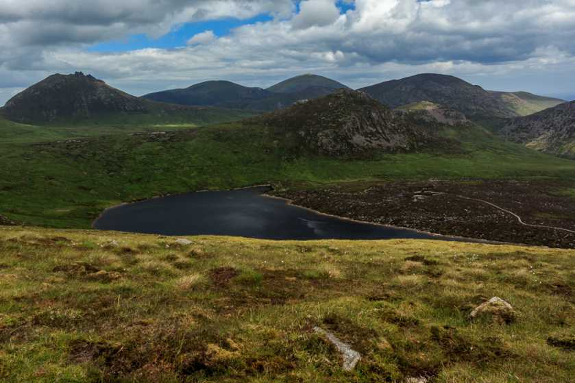 MountainViews.ie Picture about mountain Carn Mountain North Top in area Mourne Mountains, Ireland