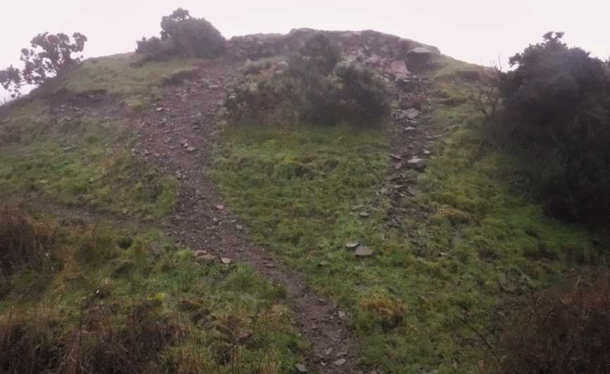 MountainViews.ie Picture about mountain Hill of Faughart in area Cooley/Gullion, Ireland