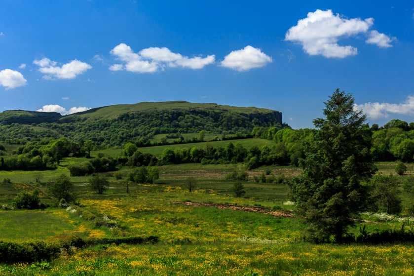 MountainViews.ie Picture about mountain Knockmore in area Fermanagh/S Tyrone, Ireland