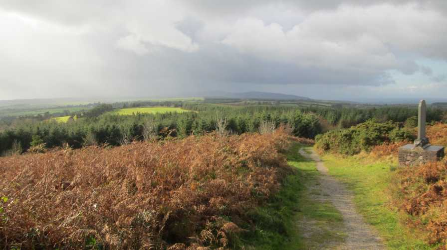 MountainViews.ie Picture about mountain Corrin in area Nagles Mountains, Ireland