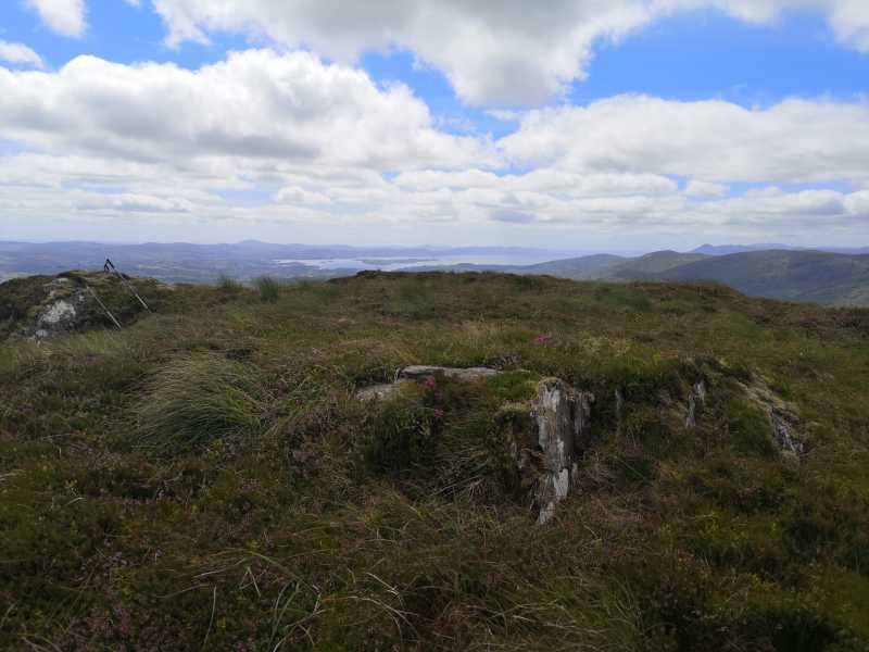 MountainViews.ie Picture about mountain Conigar SW Top  in area Shehy/Knockboy, Ireland