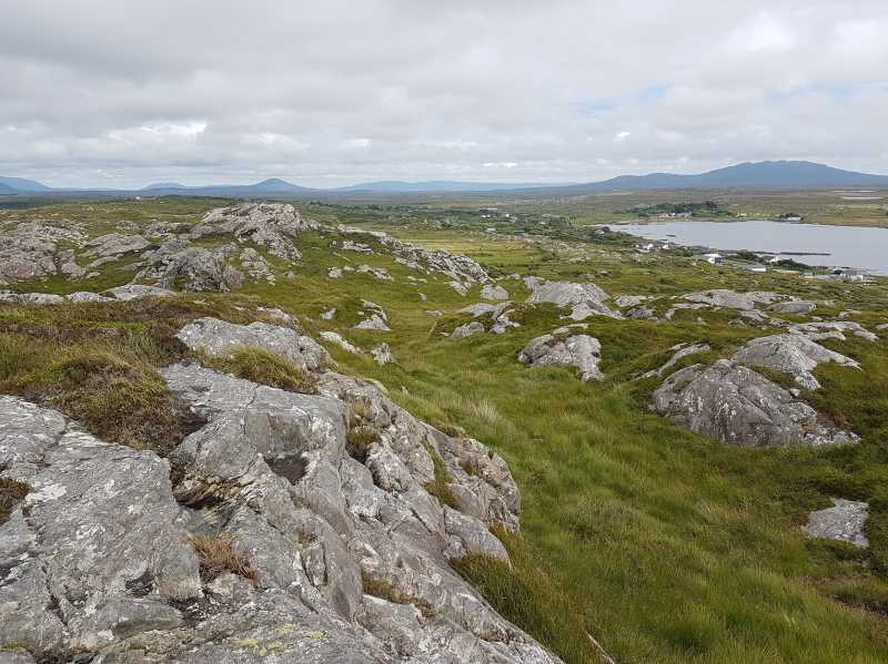 MountainViews.ie Picture about mountain Maum in area Galway Coastal Hill, Ireland