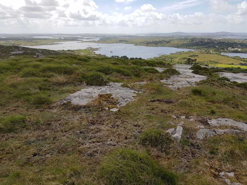 MountainViews.ie Picture about mountain Gortmore in area Galway Coastal Hill, Ireland
