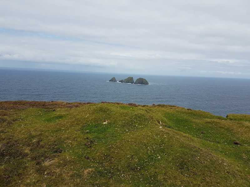 MountainViews.ie Picture about mountain Doonvinalla W Top in area Mayo Coastal Hill, Ireland