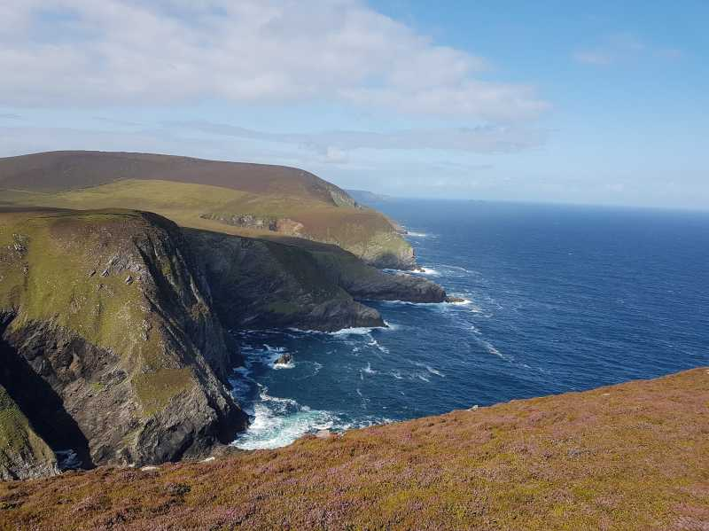 MountainViews.ie Picture about mountain Geevraun Point in area Mayo Coastal Hill, Ireland