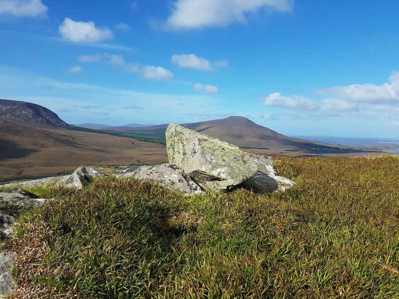 MountainViews.ie Picture about mountain Dooghill in area Mayo Coastal Hill, Ireland