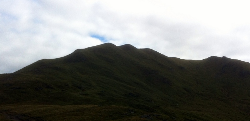 MountainViews.ie Picture about mountain Beinn Ghlas in area Glen Lyon to Glen Dochart and Loch Tay, Ireland