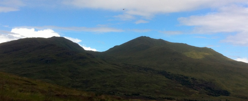MountainViews.ie Picture about mountain Meall Corranaich in area Glen Lyon to Glen Dochart and Loch Tay, Ireland