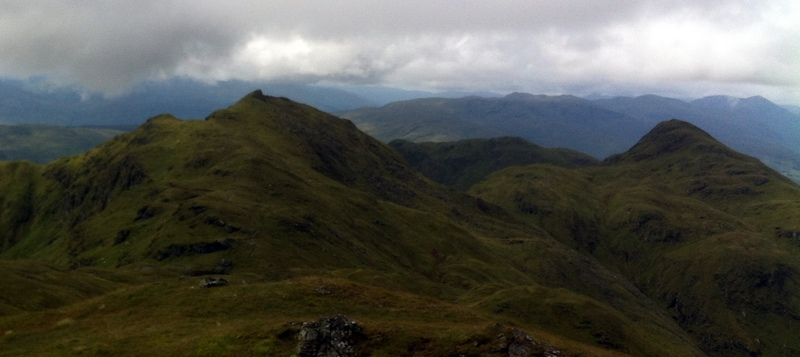 MountainViews.ie Picture about mountain Meall Garbh in area Glen Lyon to Glen Dochart and Loch Tay, Ireland