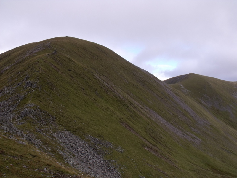 MountainViews.ie Picture about mountain Aonach Beag in area Loch Treig to Loch Ericht, Ireland