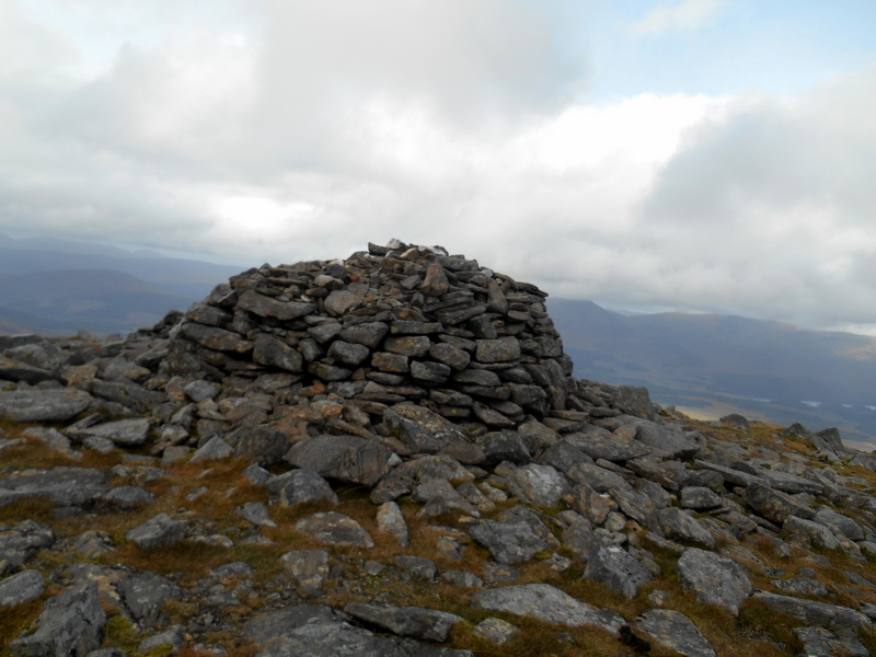MountainViews.ie Picture about mountain Chno Dearg in area Loch Treig to Loch Ericht, Ireland