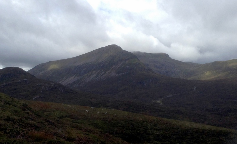 MountainViews.ie Picture about mountain Sgor Iutharn in area Loch Treig to Loch Ericht, Ireland