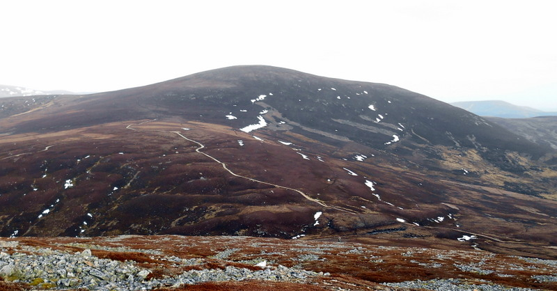 MountainViews.ie Picture about mountain Culardoch  in area Cairngorms, Ireland
