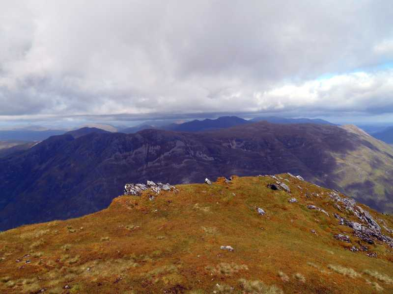 MountainViews.ie Picture about mountain Beinn Fhada in area Loch Duich to Cannich, Ireland