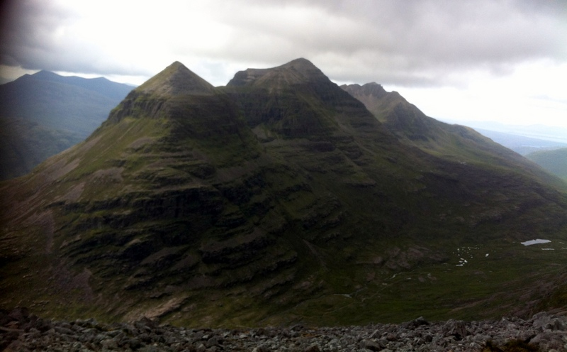 MountainViews.ie Picture about mountain Liathach - Spidean a