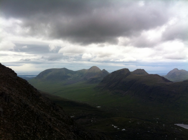 MountainViews.ie Picture about mountain Beinn Alligin - Sgurr Mhor in area Loch Torridon to Loch Maree, Ireland