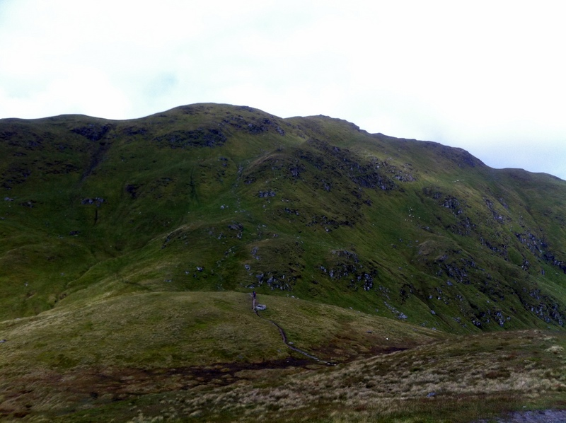 MountainViews.ie Picture about mountain Meall nan Tarmachan in area Glen Lyon to Glen Dochart and Loch Tay, Ireland