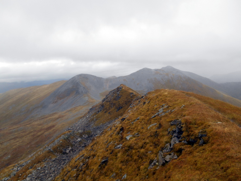 MountainViews.ie Picture about mountain Sgurr Choinnich Mor in area Fort William to Loch Treig and Loch Leven, Ireland