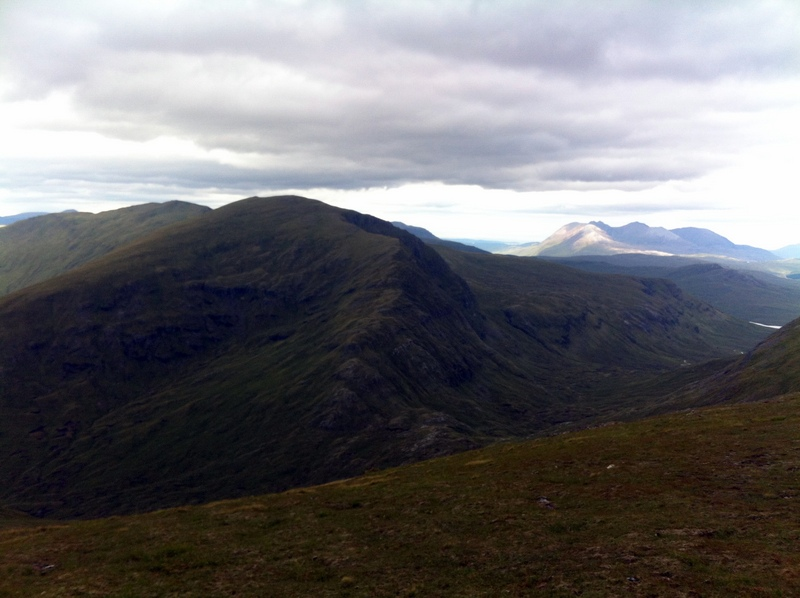 MountainViews.ie Picture about mountain Sgurr Breac in area The Fannaichs, Ireland