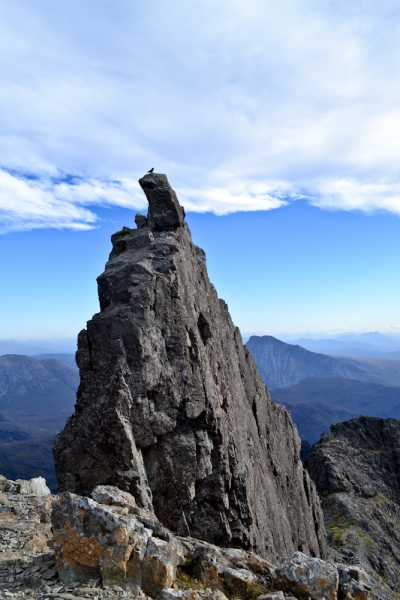 MountainViews.ie Picture about mountain Sgurr Dearg - Inaccessible Pinnacle in area Minginish and the Cuillin Hills, Ireland
