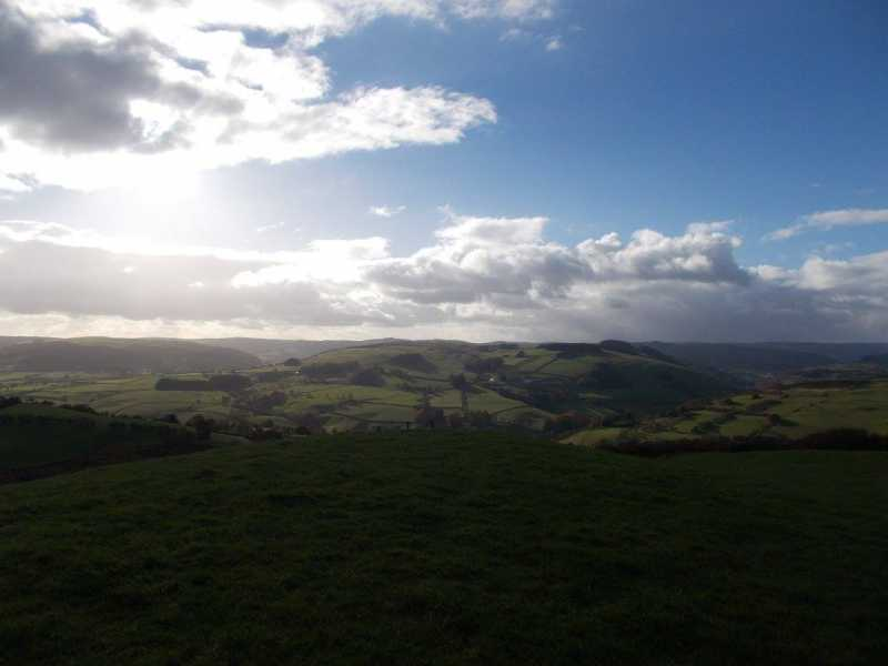 MountainViews.ie Picture about mountain Graig Iar  in area Welshpool to Hay-on-Wye, Ireland