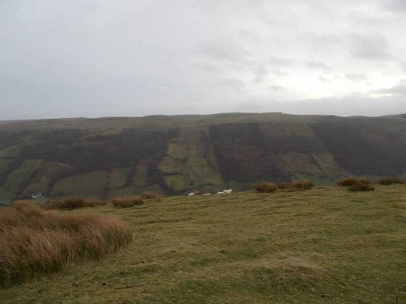 MountainViews.ie Picture about mountain Bryn Melyn  in area Llandovery to Monmouth, Ireland