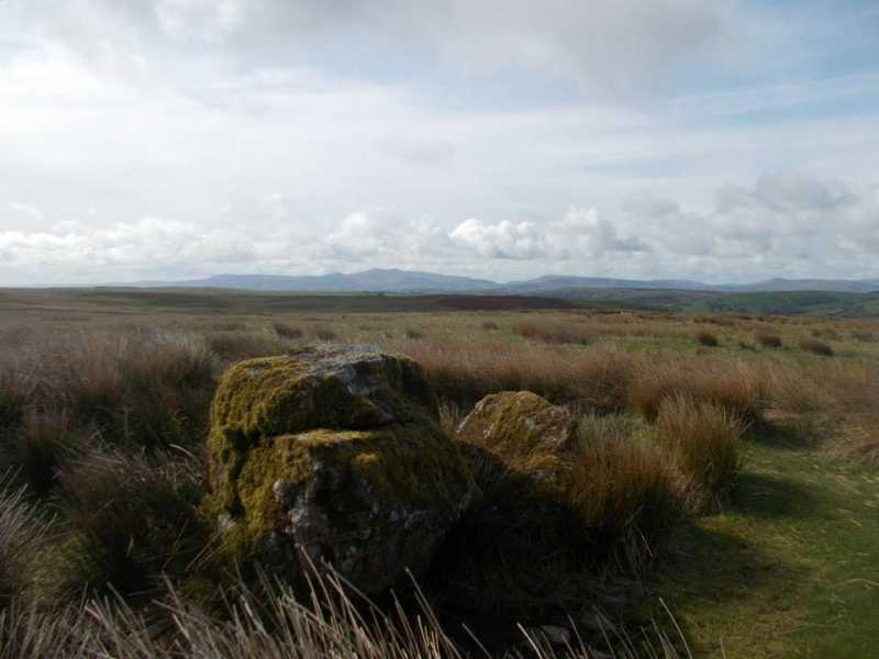 MountainViews.ie Picture about mountain Garreg Fawr  in area Llandovery to Monmouth, Ireland