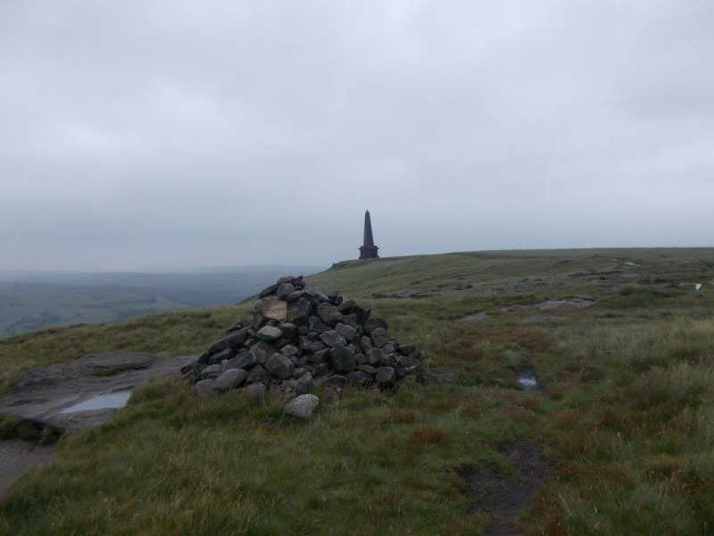 MountainViews.ie Picture about mountain Stoodley Pike  in area Lancashire, Cheshire & the Southern Pennines, Ireland