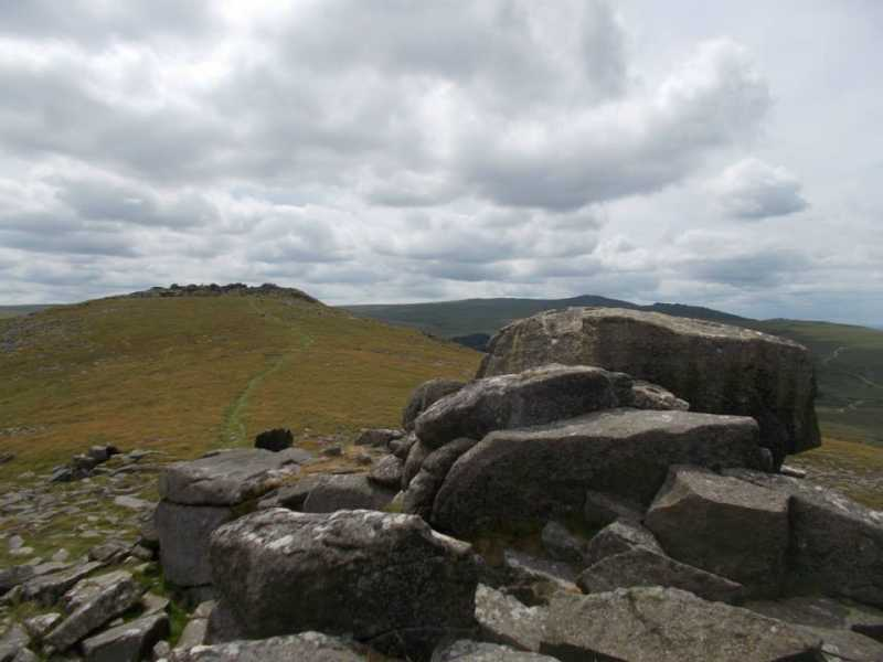 MountainViews.ie Picture about mountain Belstone Tor in area Cornwall & Devon, Ireland