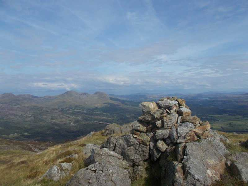 MountainViews.ie Picture about mountain Moel-ddu  in area Snowdonia, Ireland