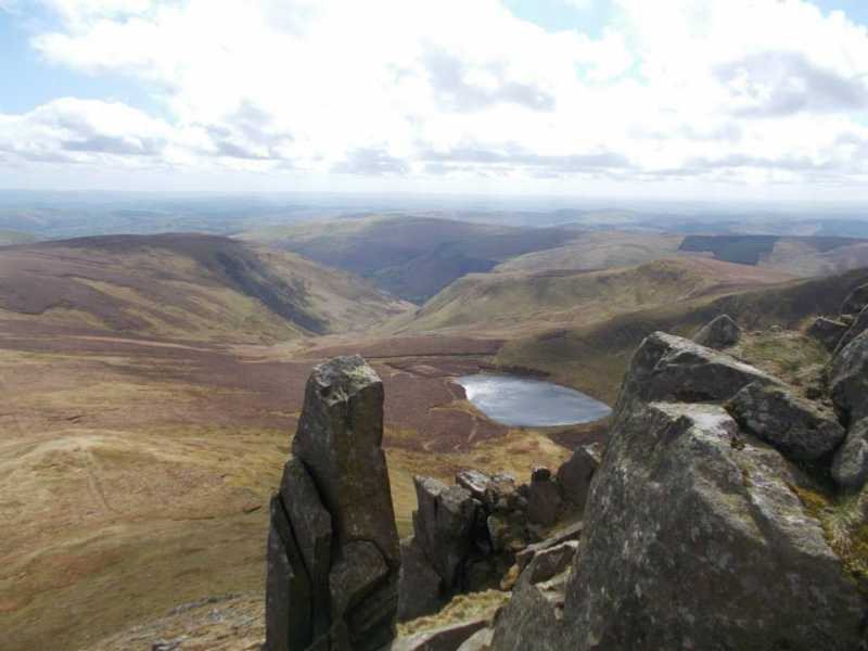 MountainViews.ie Picture about mountain Cadair Berwyn  in area Bala to Welshpool, Ireland