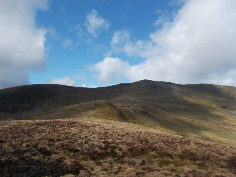 MountainViews.ie Picture about mountain Moel yr Ewig  in area Bala to Welshpool, Ireland