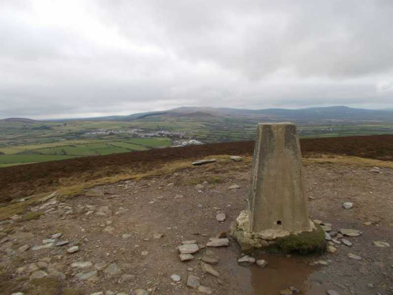 MountainViews.ie Picture about mountain Frenni Fawr  in area South-West Wales, Ireland