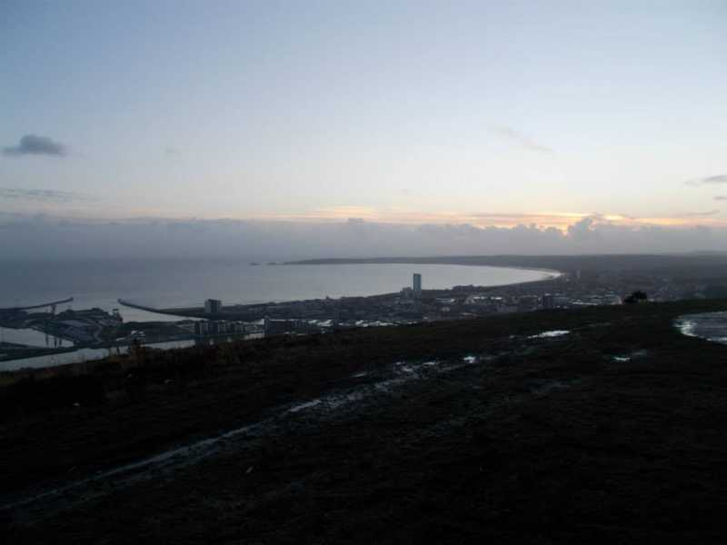 MountainViews.ie Picture about mountain Kilvey Hill  in area Carmarthen to Vale of Neath, Ireland