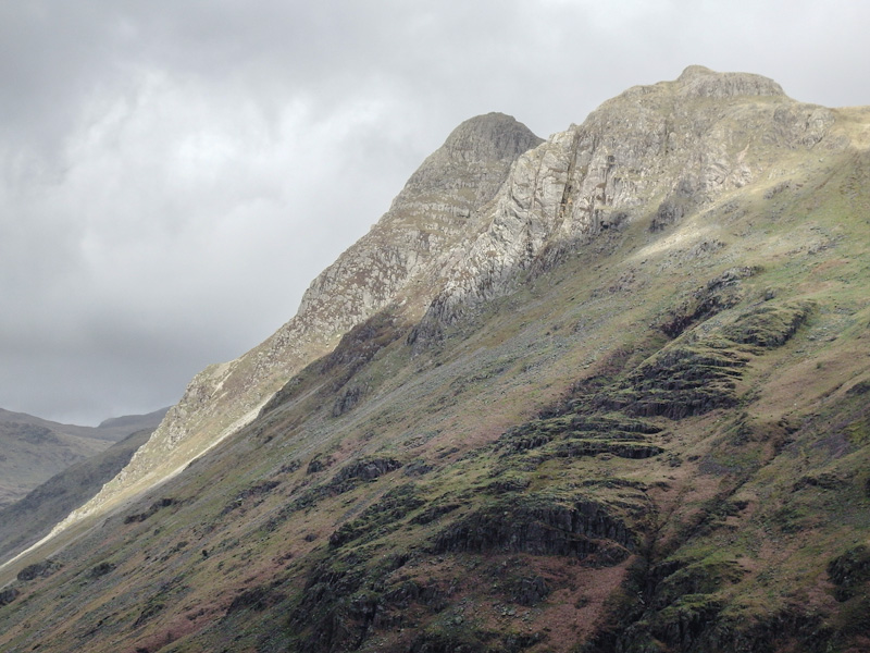 MountainViews.ie Picture about mountain Pike of Stickle in area Lake District - Central & Western Fells, Ireland