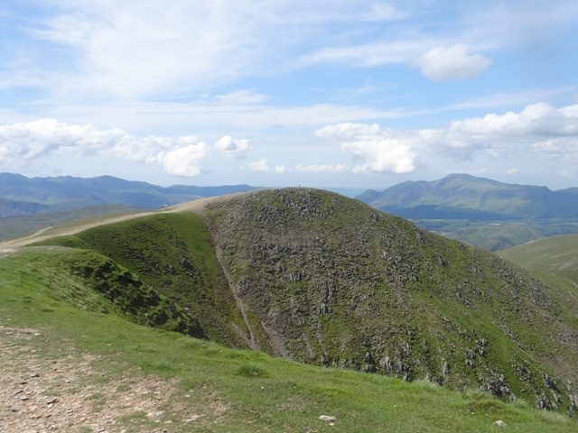 MountainViews.ie Picture about mountain Helvellyn - Lower Man in area Lake District - Eastern Fells, Ireland