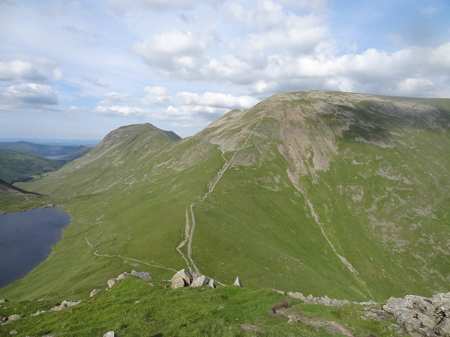 MountainViews.ie Picture about mountain Fairfield in area Lake District - Eastern Fells, Ireland