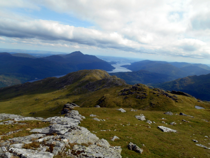 MountainViews.ie Picture about mountain Ben Vorlich South Top in area Inveraray to Crianlarich, Ireland