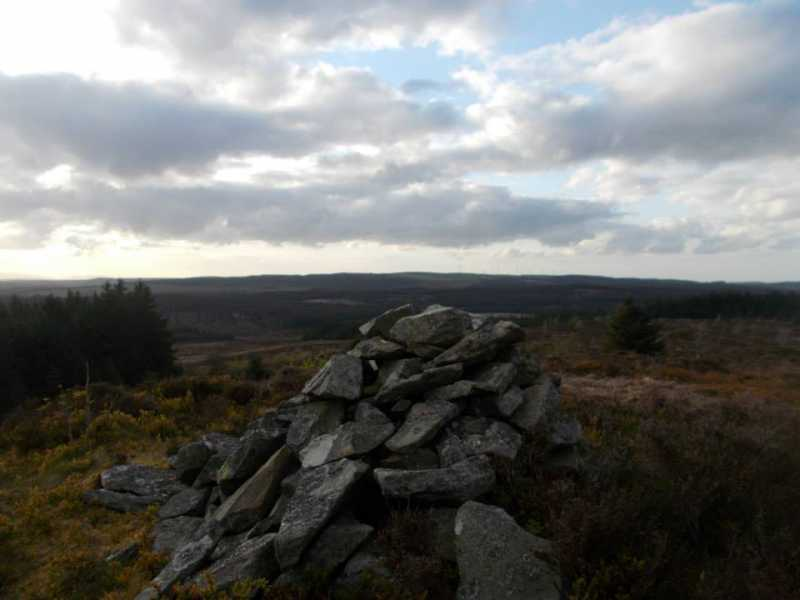 MountainViews.ie Picture about mountain Craig Bron-banog  in area Llandudno to Wrexham, Ireland