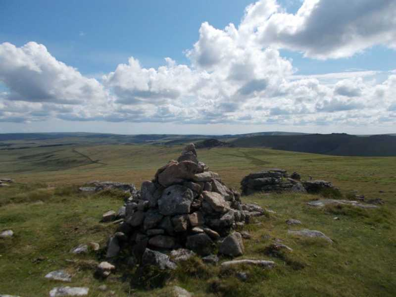 MountainViews.ie Picture about mountain Higher White Tor in area Cornwall & Devon, Ireland